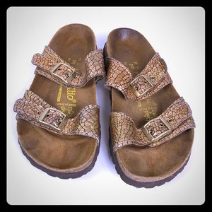 Birkenstock Papillio 37 Sandals super comfy EUC